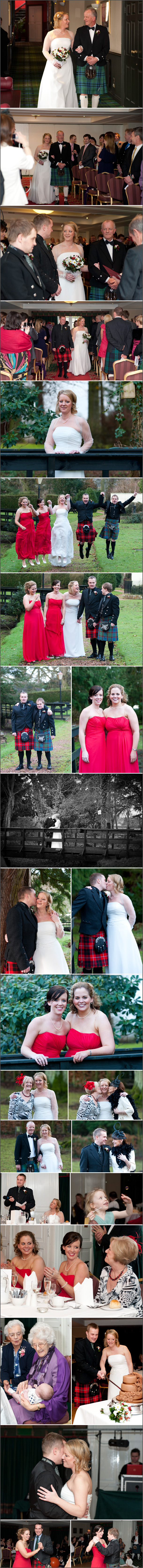 Jane & Robs Wedding at Huntingtower Hotel, Perth