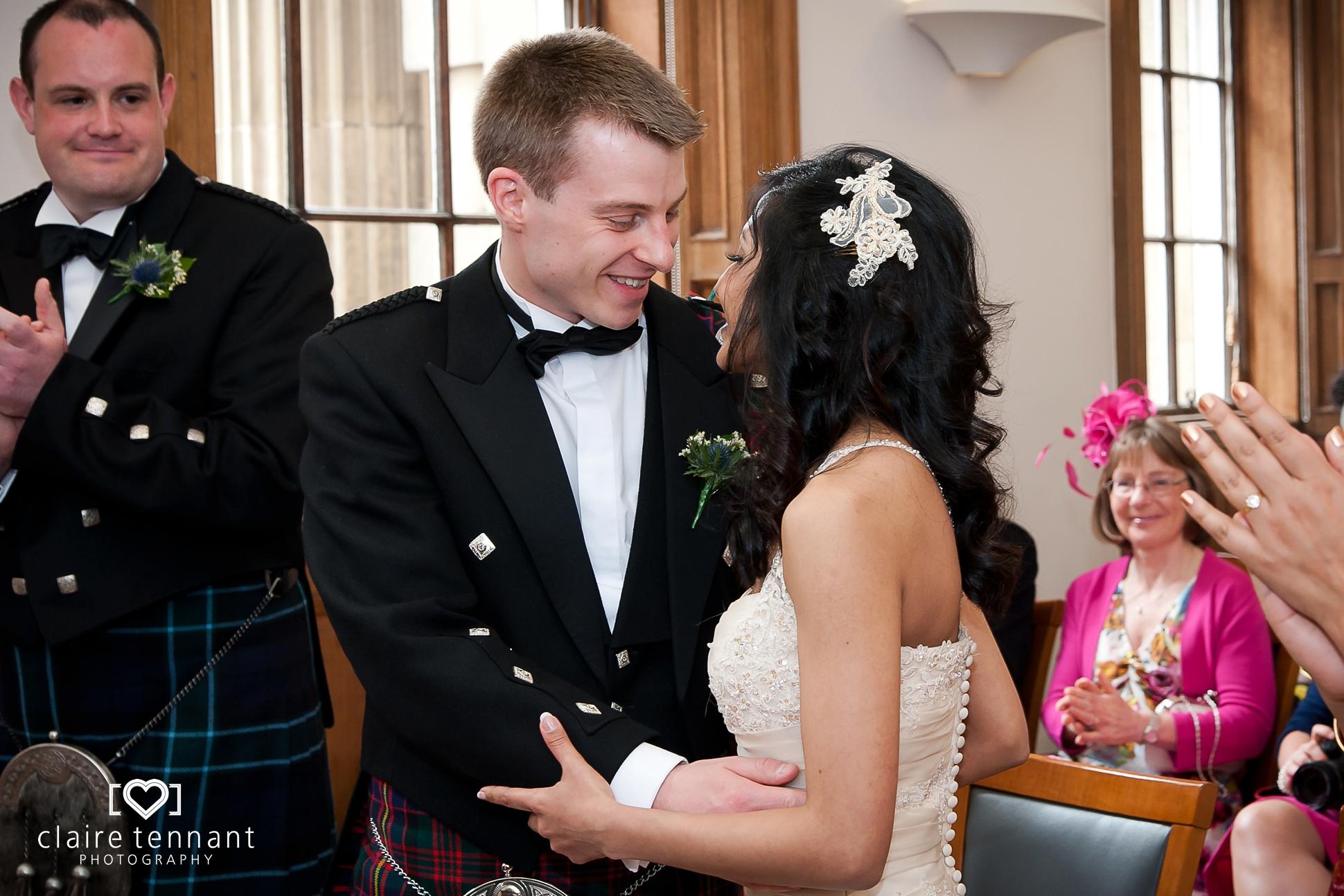 Lothian Chambers intimate ceremony