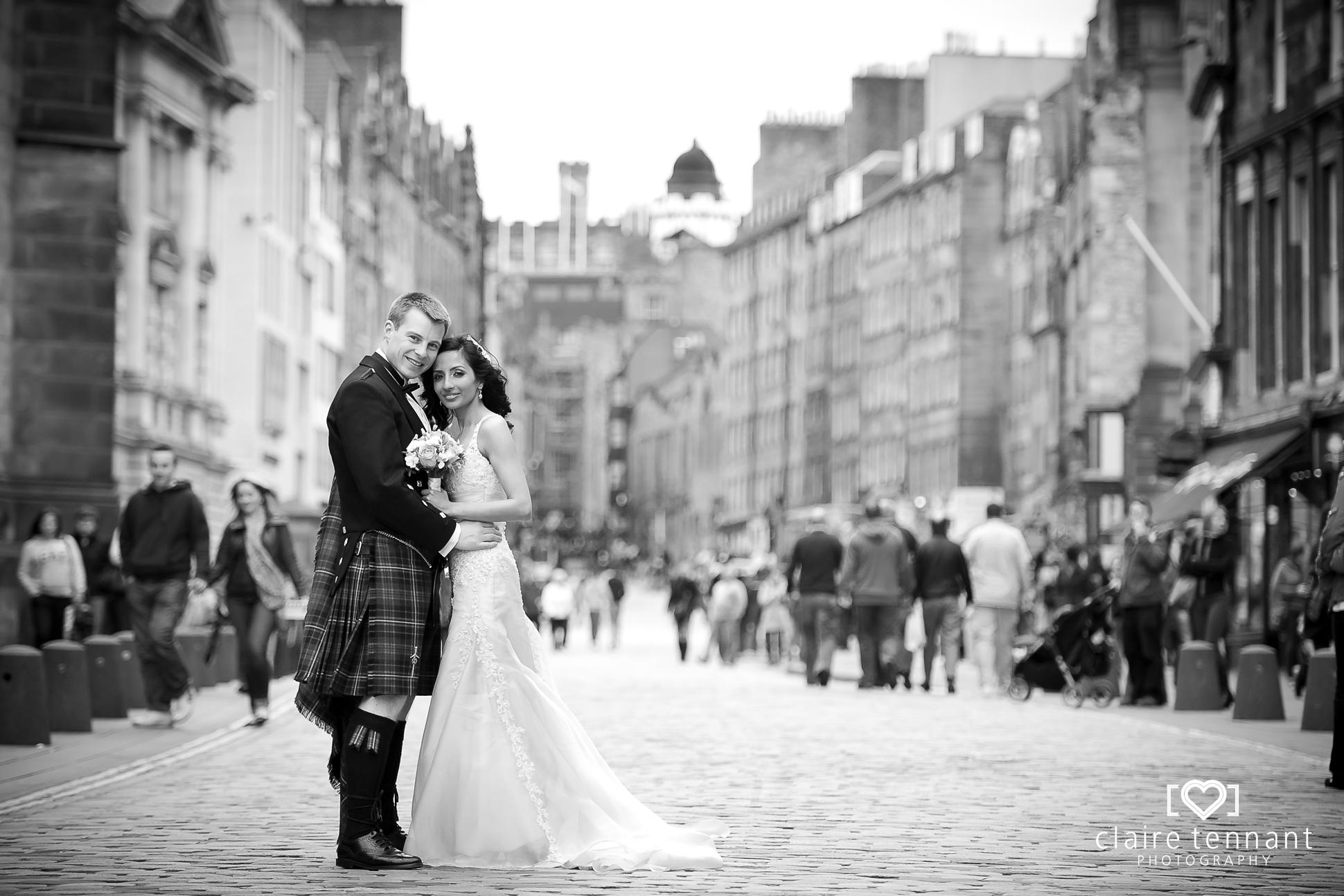 wedding at Lothian Chambers