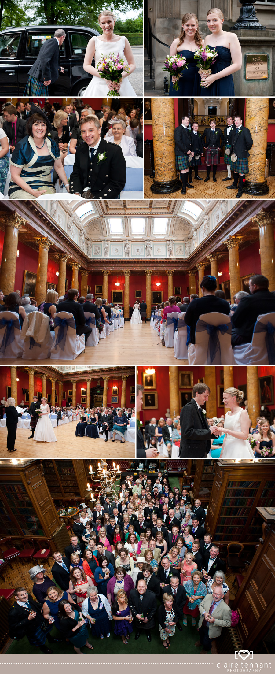 Edinburgh Wedding Photography   Royal College of Physicians