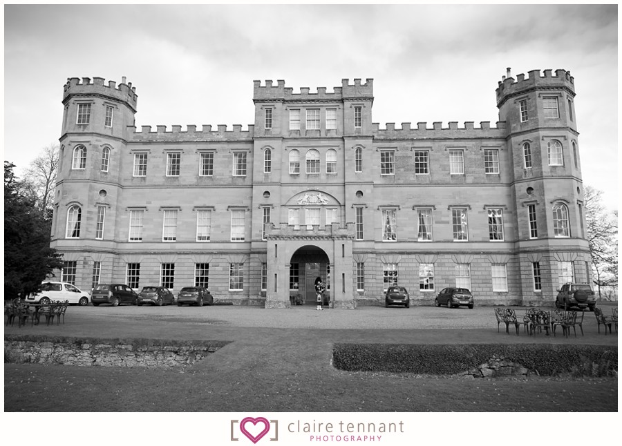 Wedding Photography At Wedderburn Castle In The Scottish