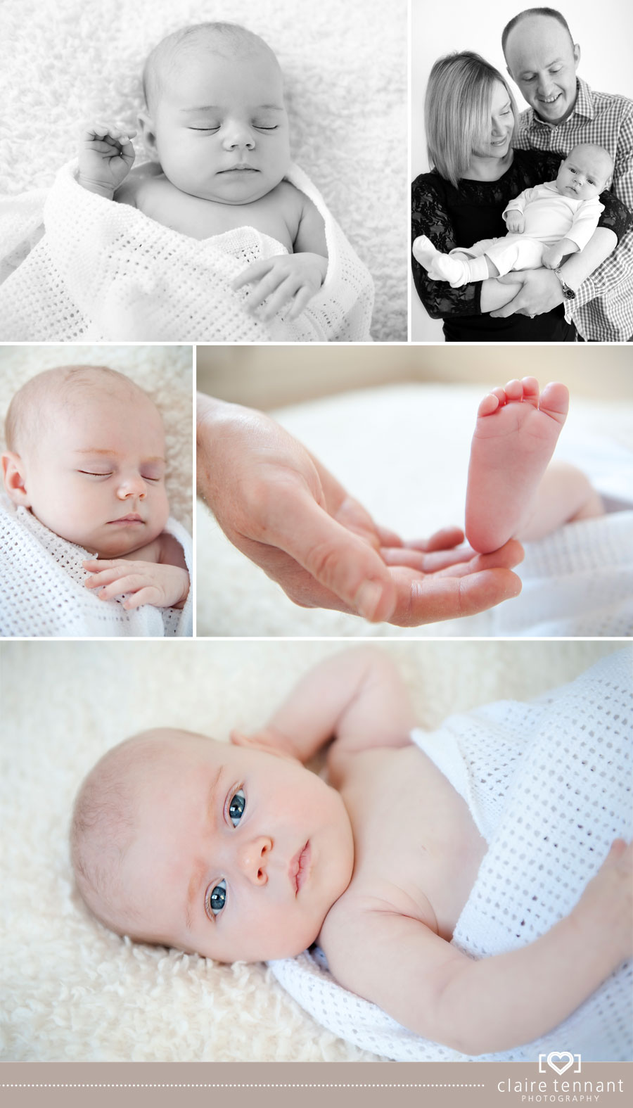 Newborn Baby Photography - Baby Aila, 1 month old