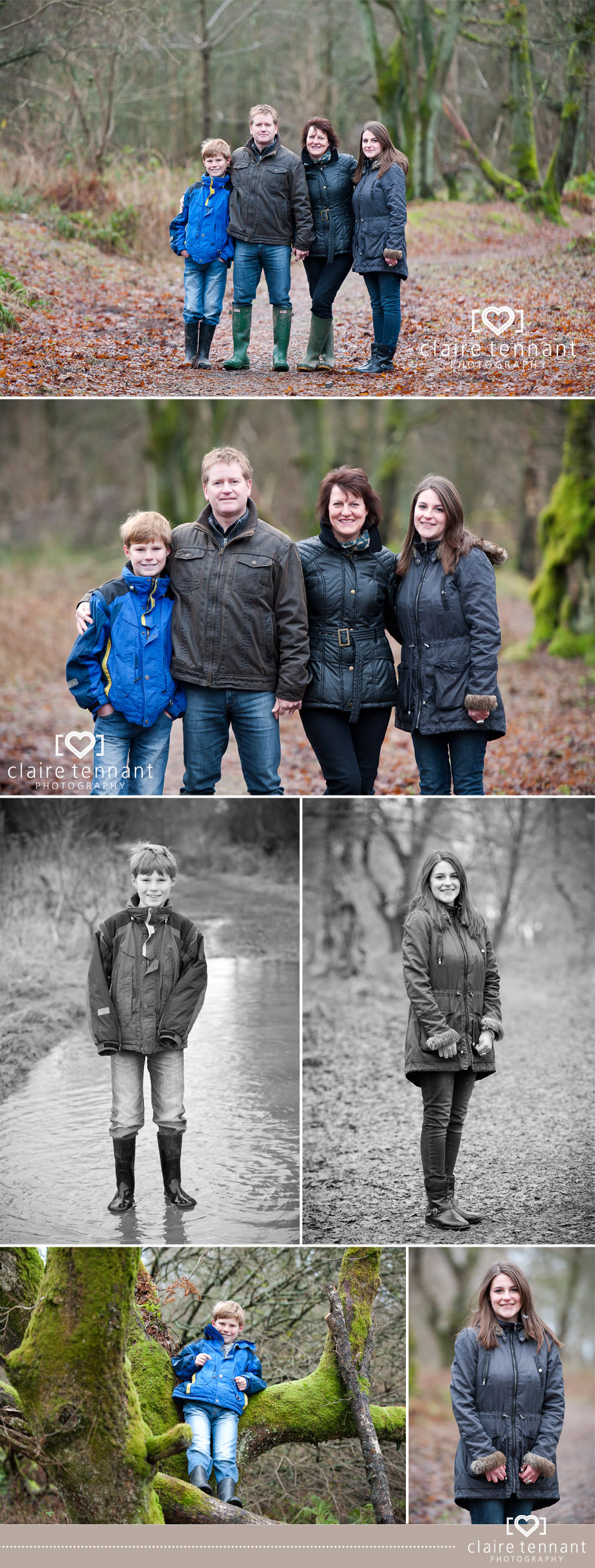 Family photography near Stirling