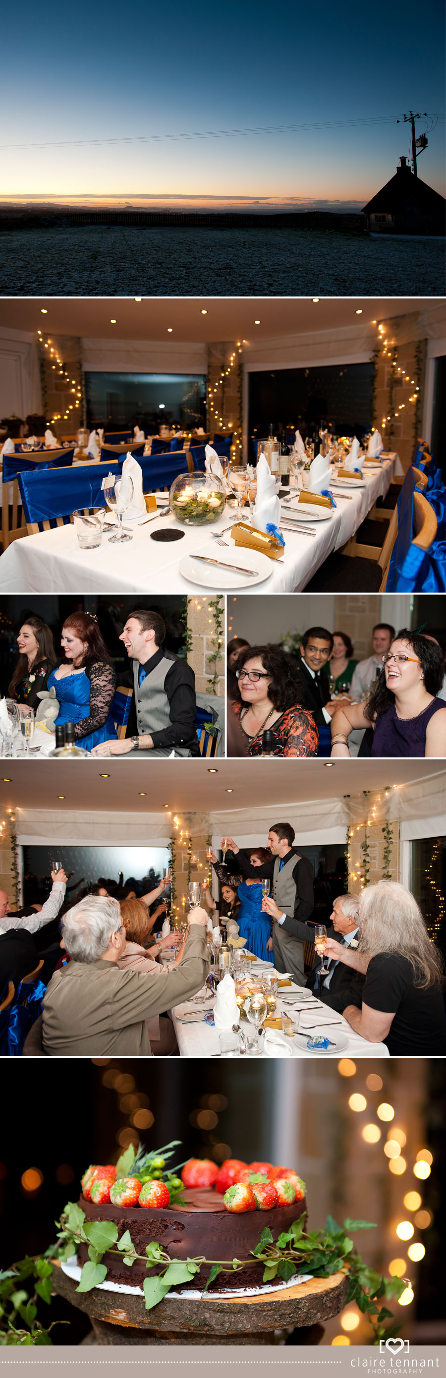 Winter wedding at Garleton Lodge, East Lothian
