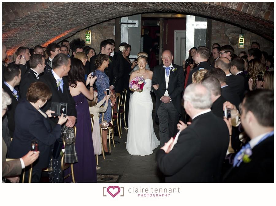 Wedding Photography At The Caves Edinburgh Anna Amp Willie