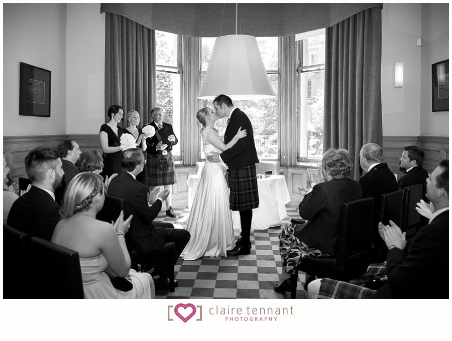 Bonham hotel edinburgh wedding