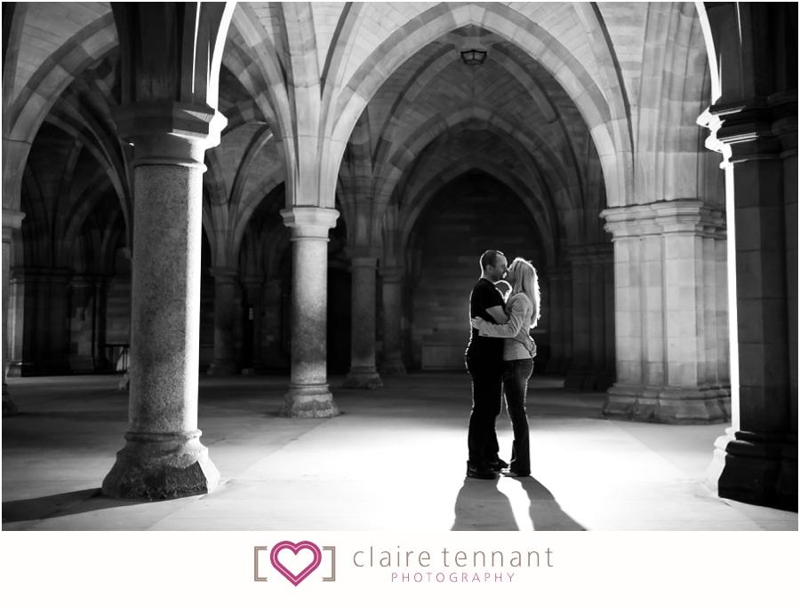 Cloisters pre-wedding shoot