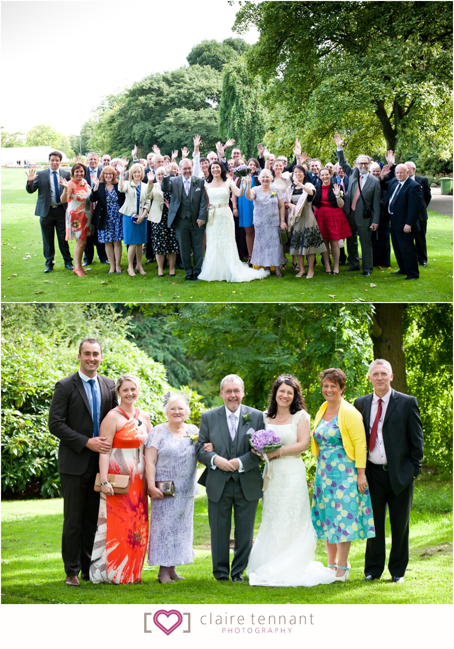 Grosvenor hilton wedding
