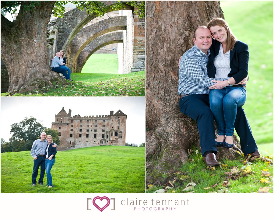 Linlithgow Palace pre-wedding photography