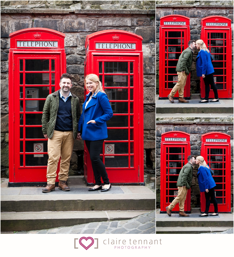 edinburgh pre-wedding shoot