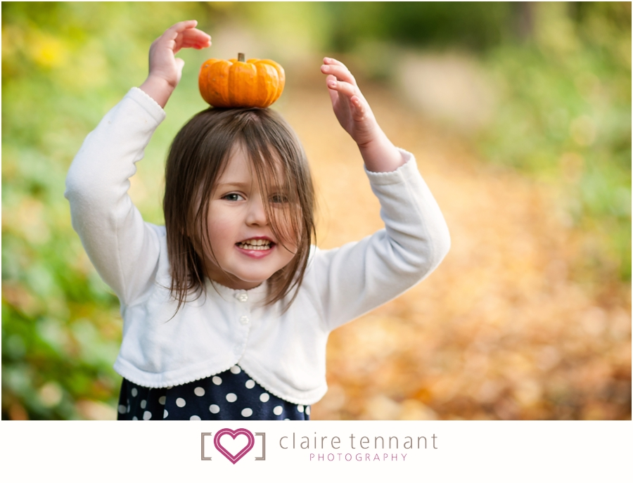 Autumn Family photos in Edinburgh