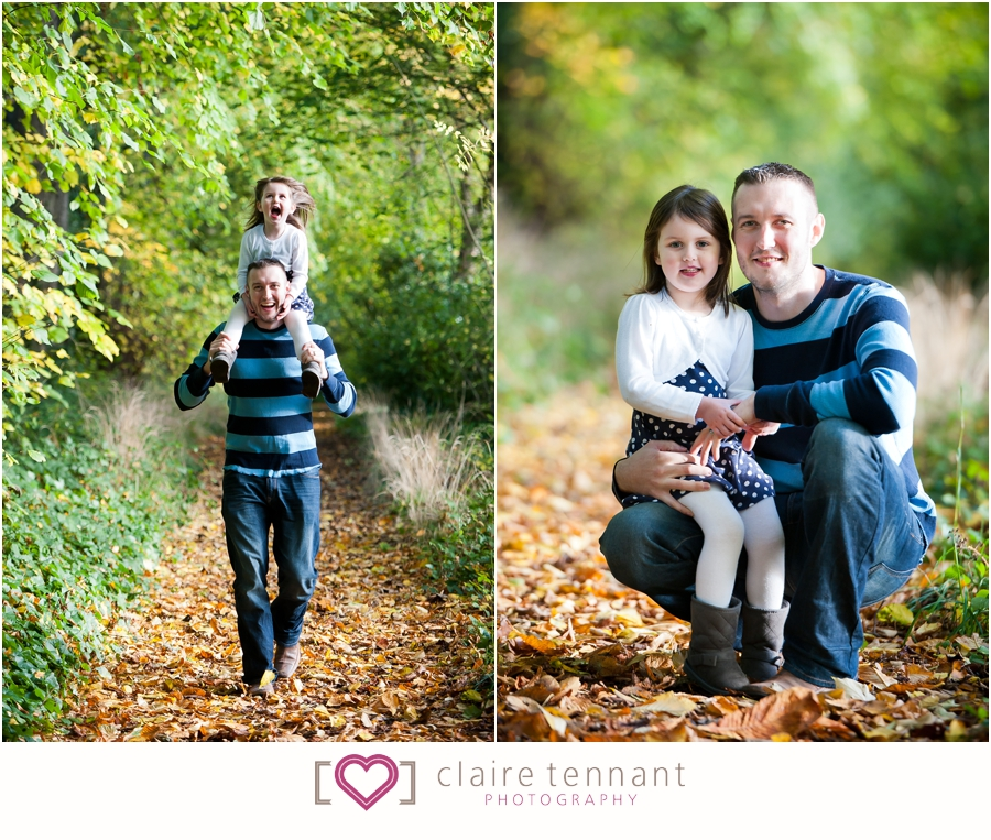 Family photography autumn
