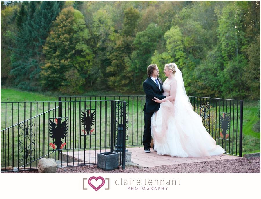 Dalhousie Castle couple photography