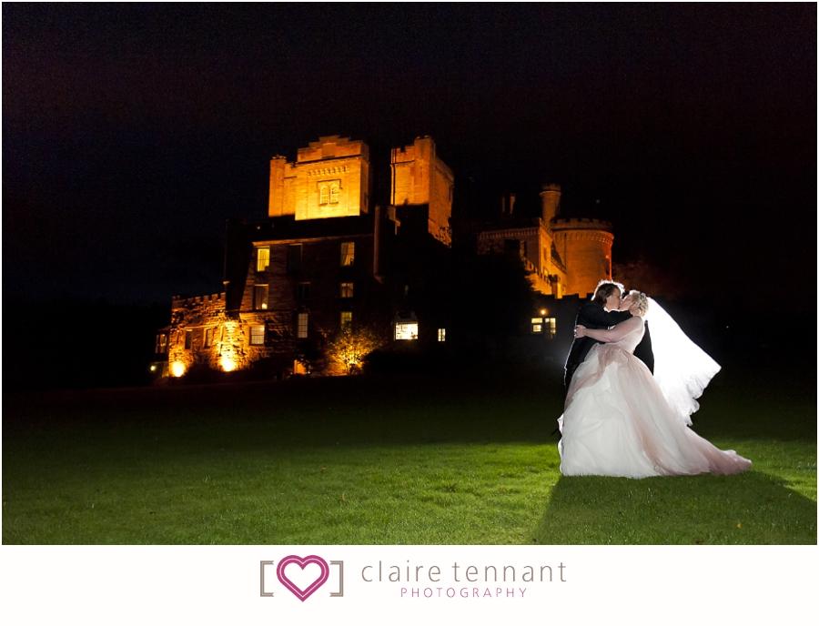 Dalhousie Castle Hotel elopement