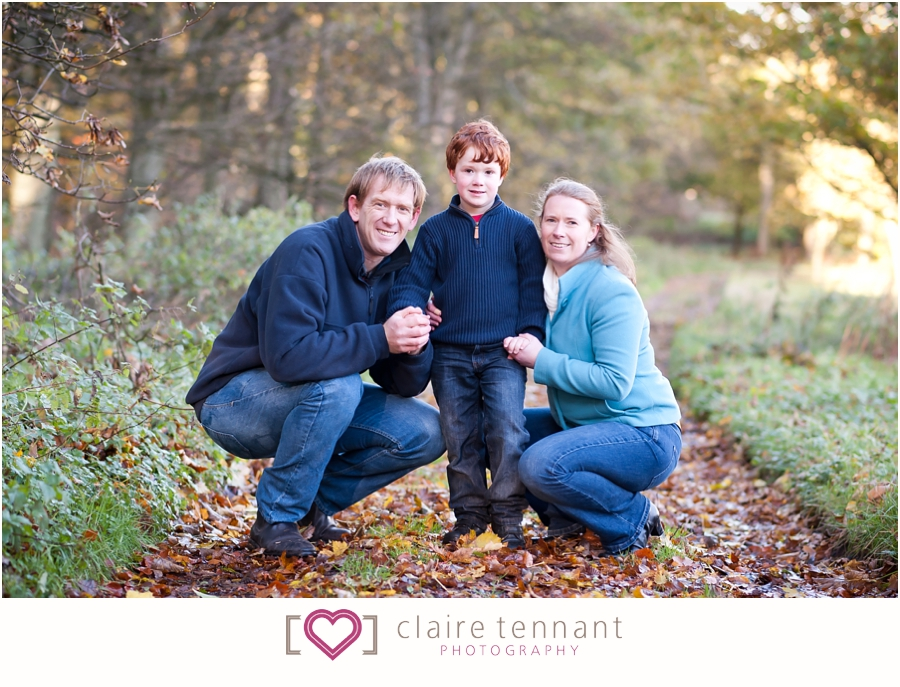 Family photography shoot in West Lothian