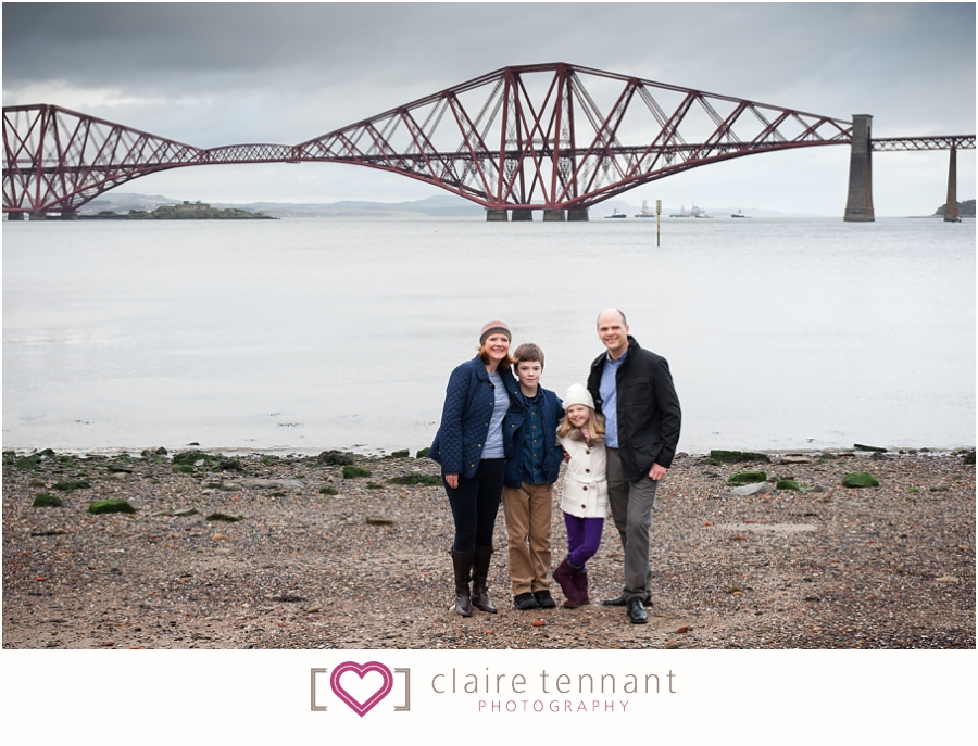 Natural family photography South Queensferry