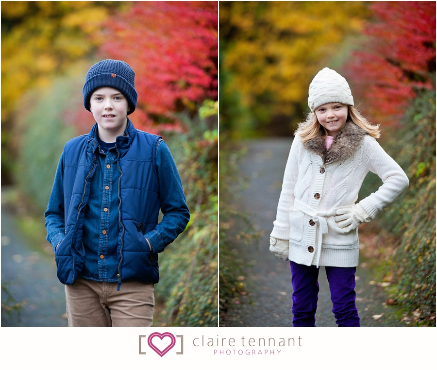 Natural family photography Autumn