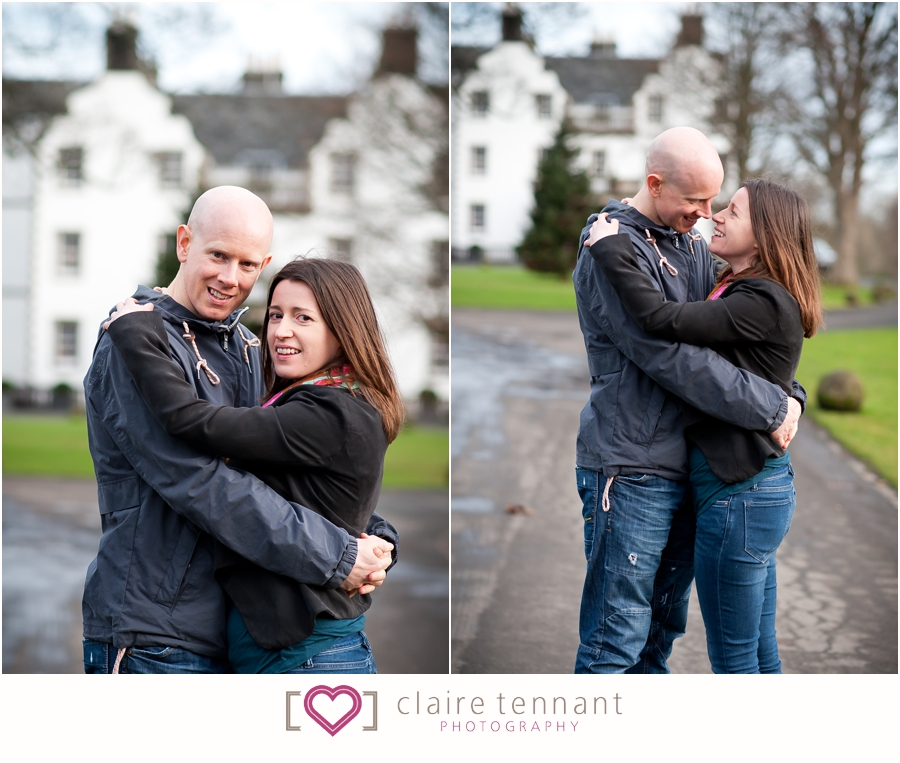 pre-wedding shoot at Prestonfield House