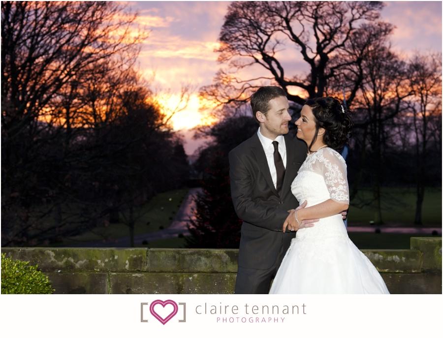 Prestonfield House Winter Wedding