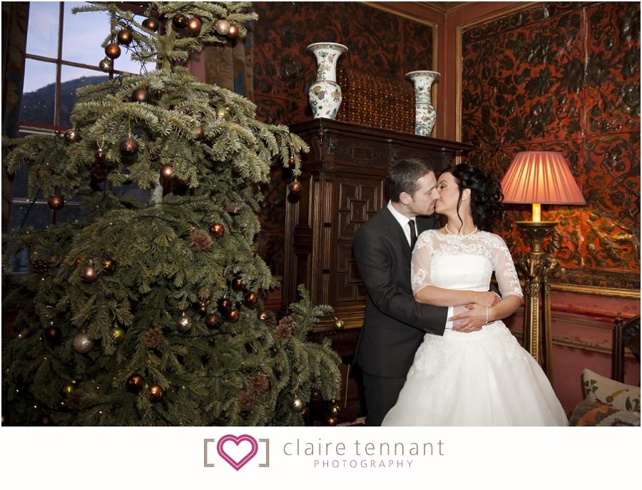 Prestonfield House Christmas Wedding