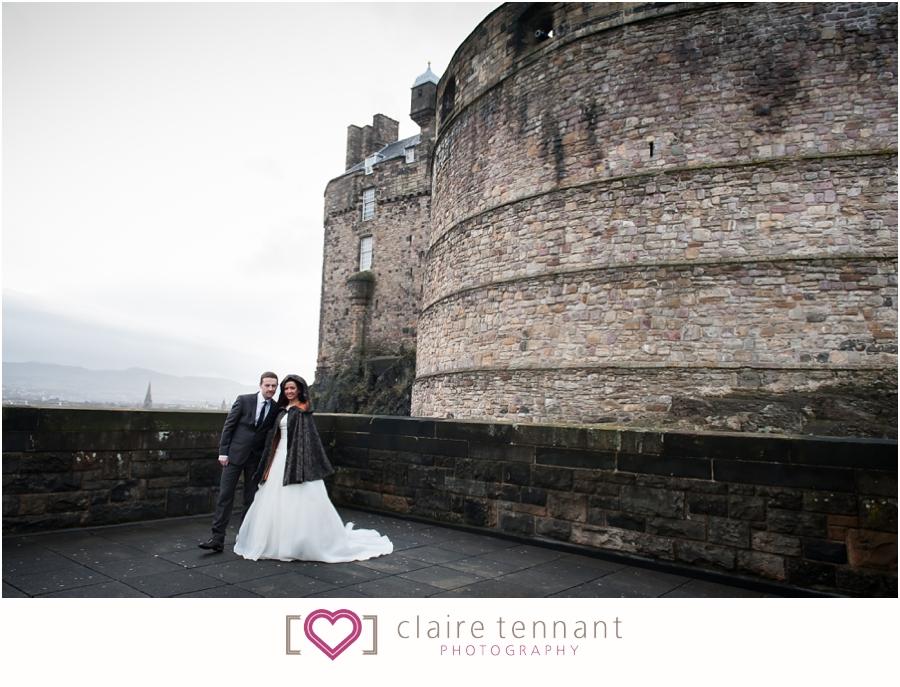 Edinburgh Castle Elopement
