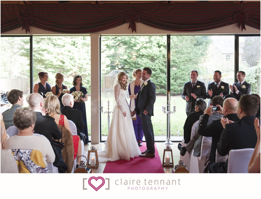 Carberry Tower wedding ceremony