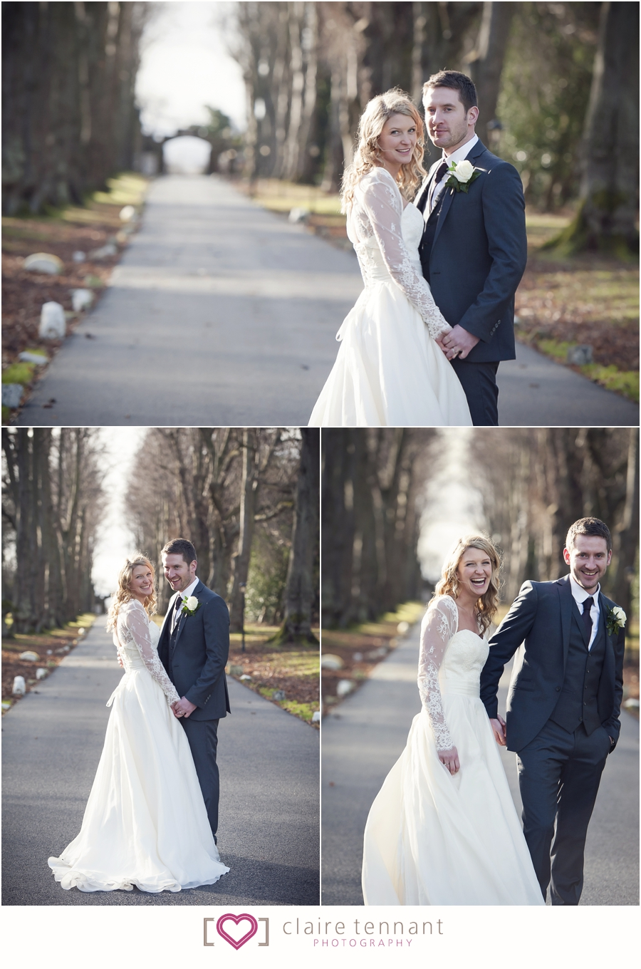 carberry tower winter wedding