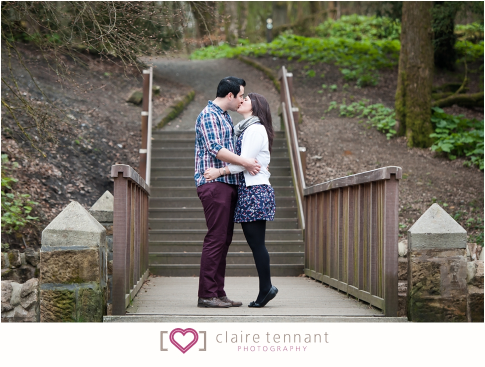 Pre-wedding photography at Polkemmet Country Park