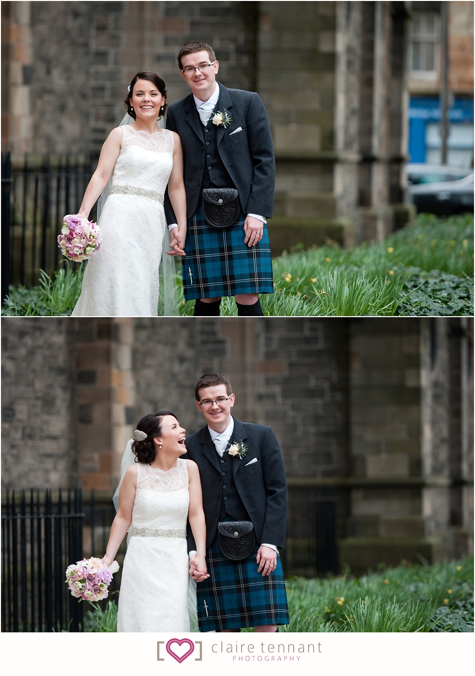 Beautiful Mansfield Traquair Wedding