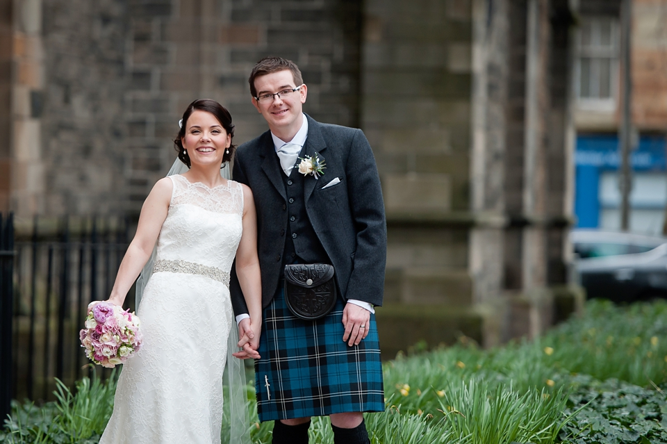 Beautiful Mansfield Traquair wedding, Edinburgh
