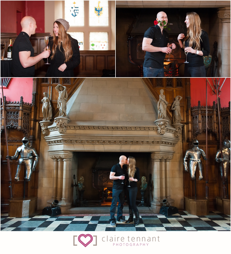 Proposal Photography Edinburgh Castle