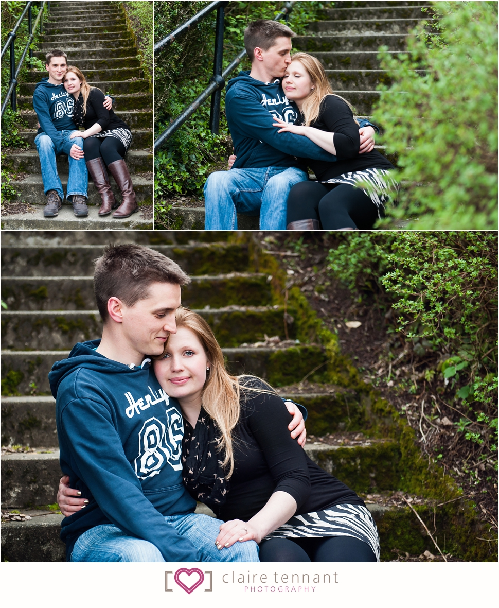 West Lothian pre-wedding photography