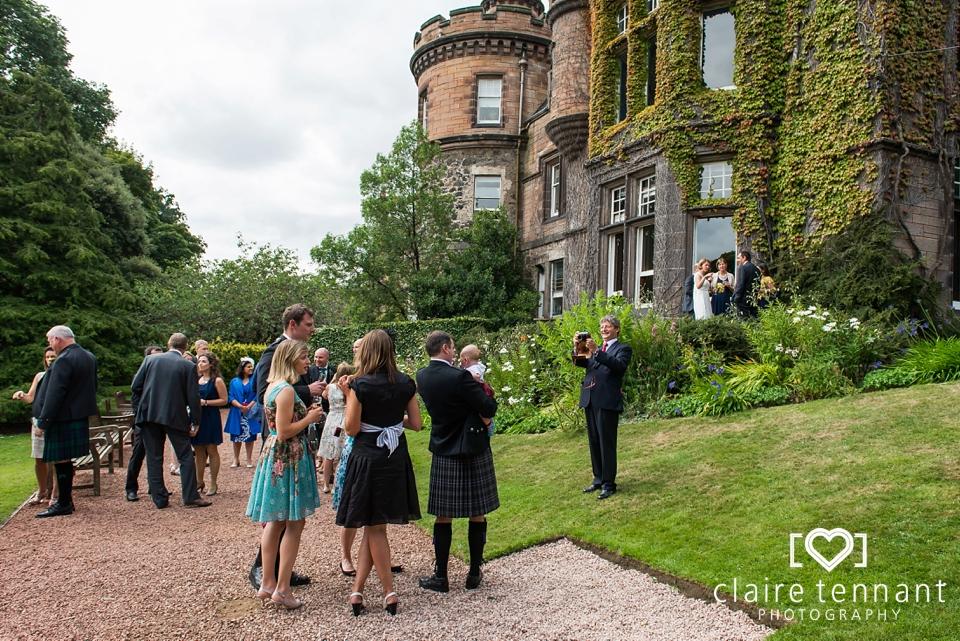 Edinburgh Zoo Wedding Mansion House