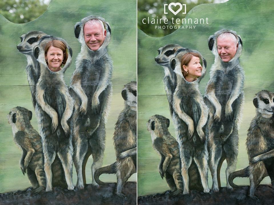 Edinburgh Zoo Wedding Meercats