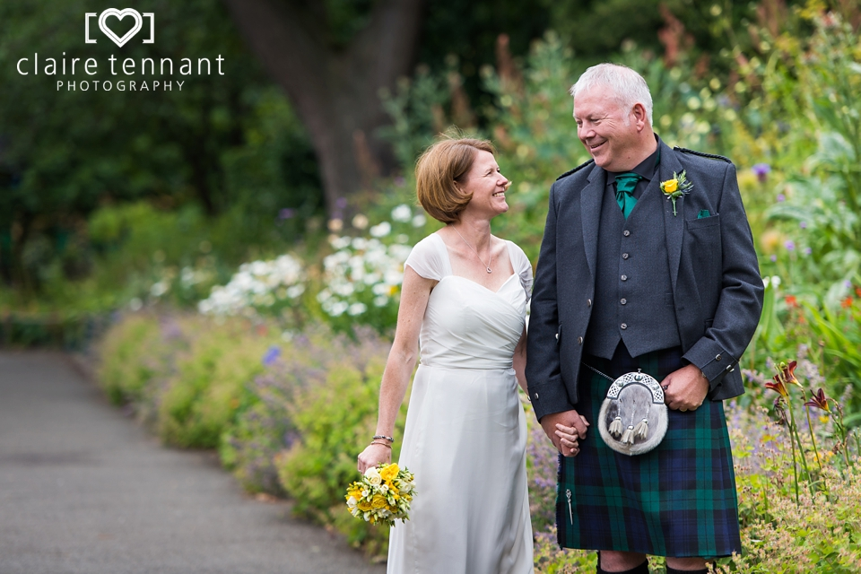 Summer Edinburgh Zoo Wedding