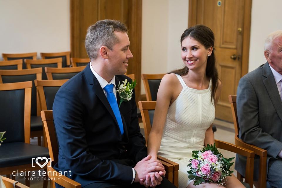 Lothian chambers wedding ceremony