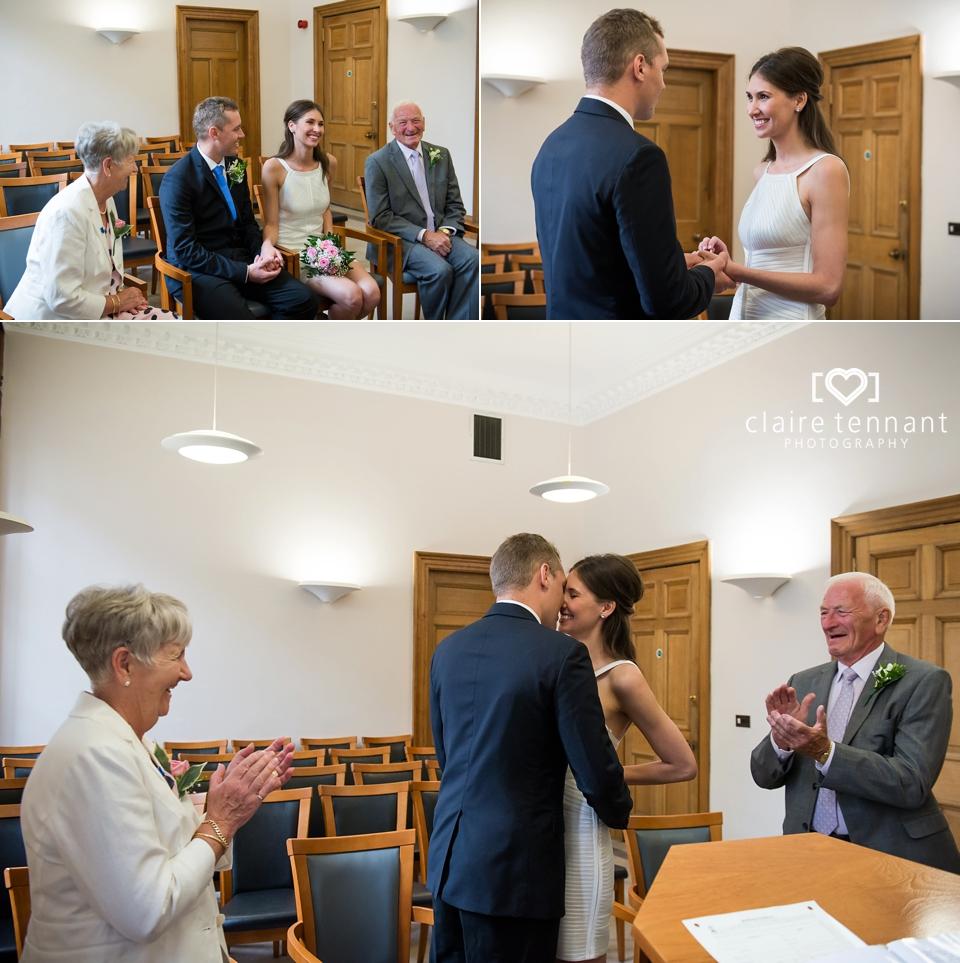 Edinburgh registry office wedding