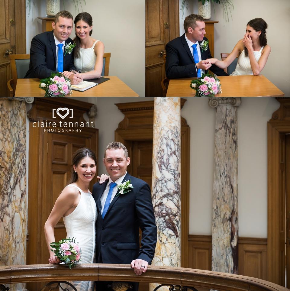 Edinburgh elopement photography