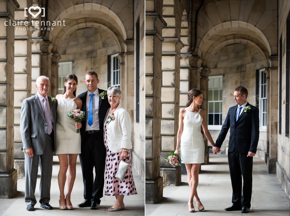 Small wedding edinburgh