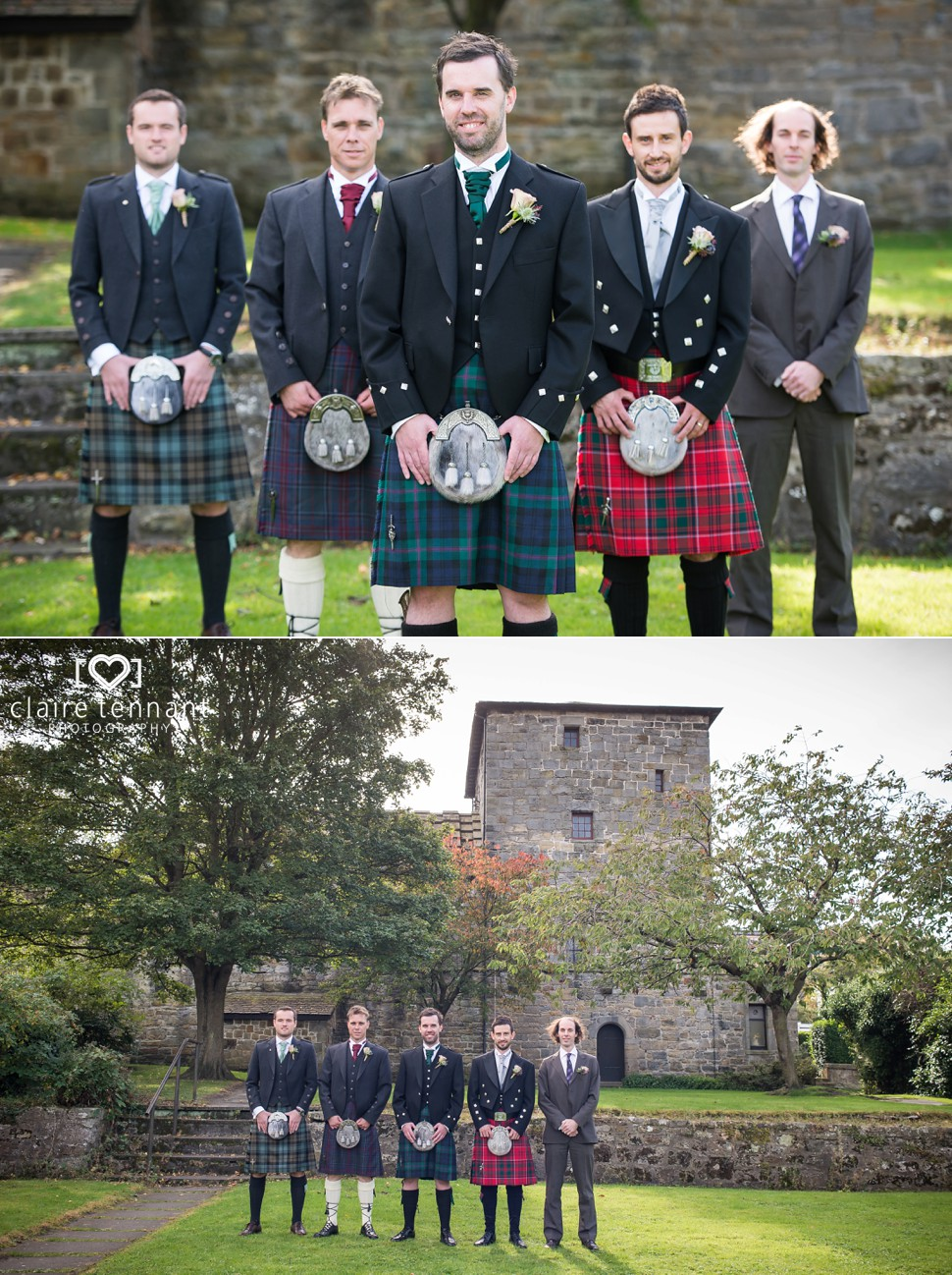 Priory Church South Queensferry Wedding