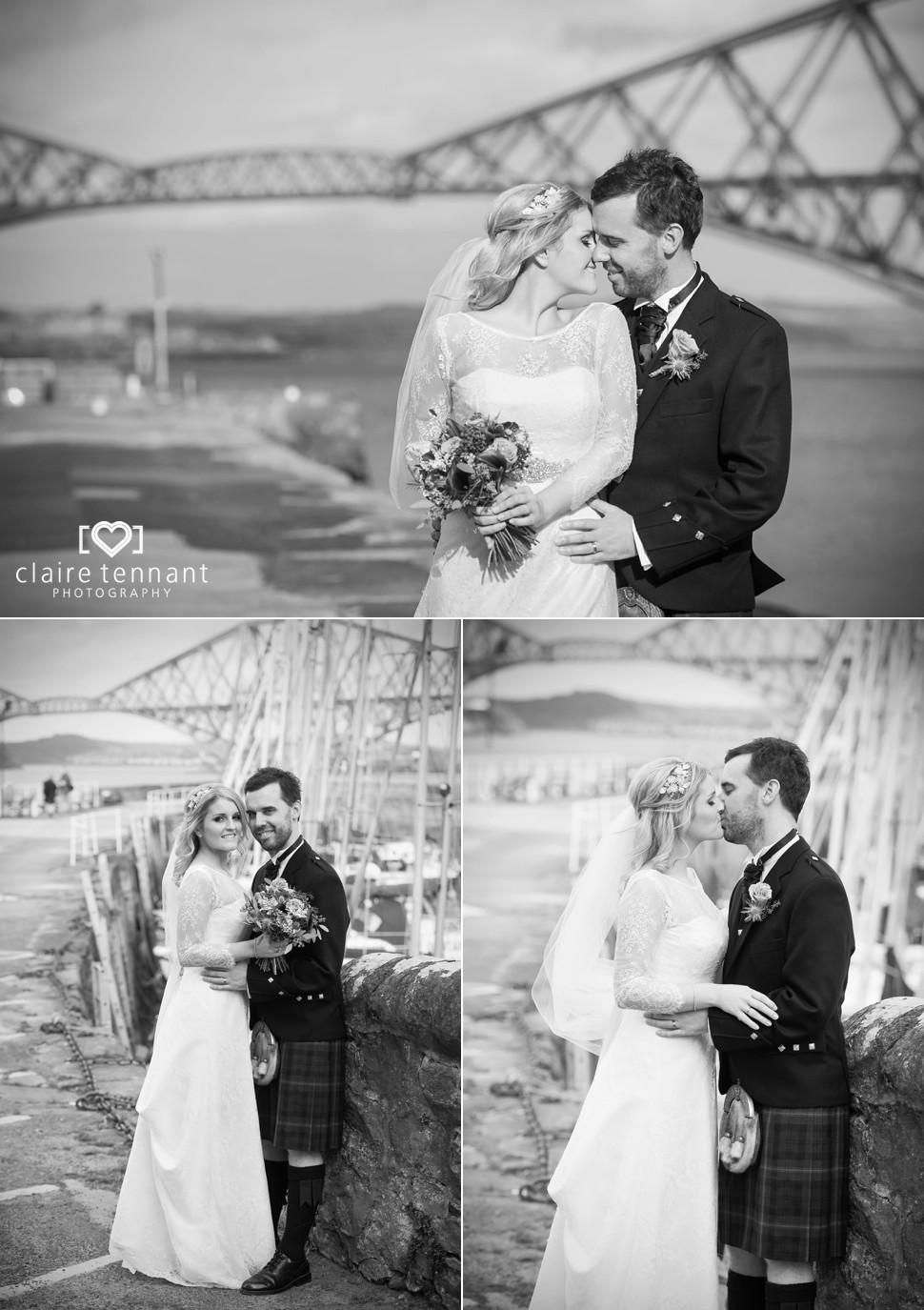 South Queensferry Bridges Wedding Photos