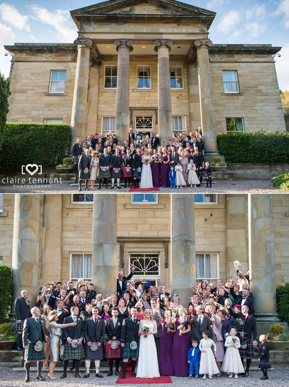 Balbirnie House Group Photo