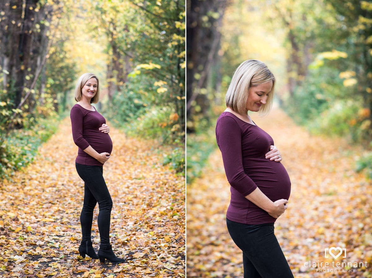 Outdoor Maternity Shoot in Edinburgh