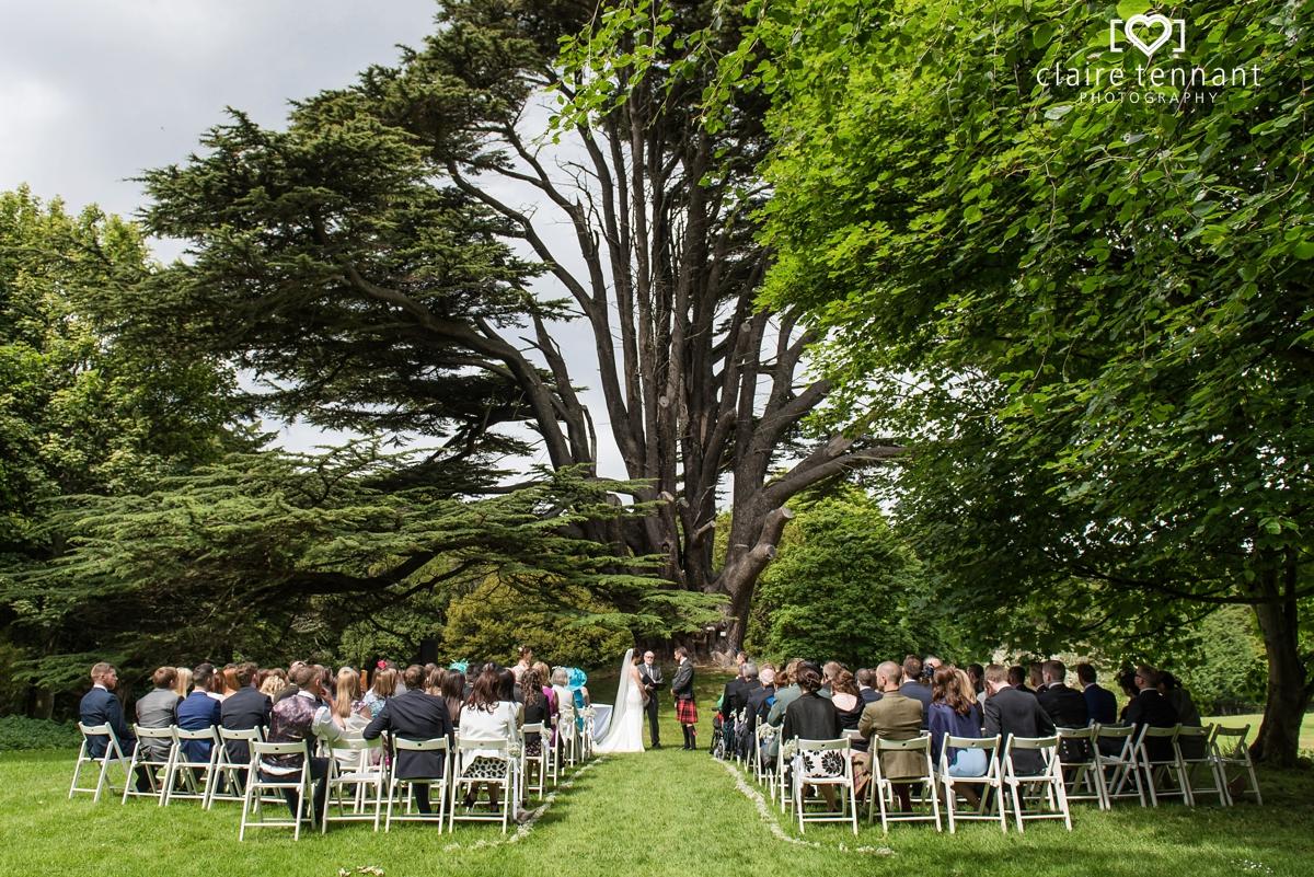Wedding at Broxmouth Park