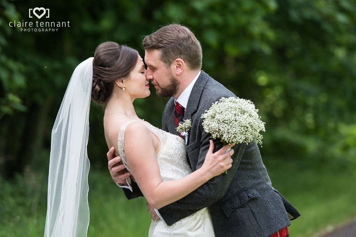 Wedding at Broxmouth Park