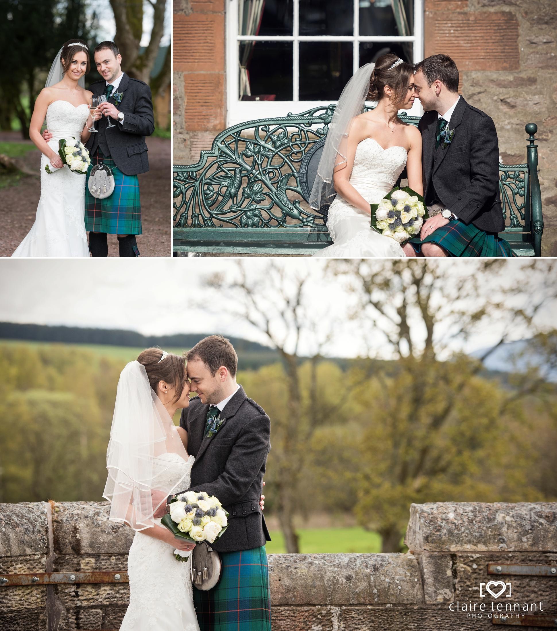 Shieldhill Castle Wedding Photography