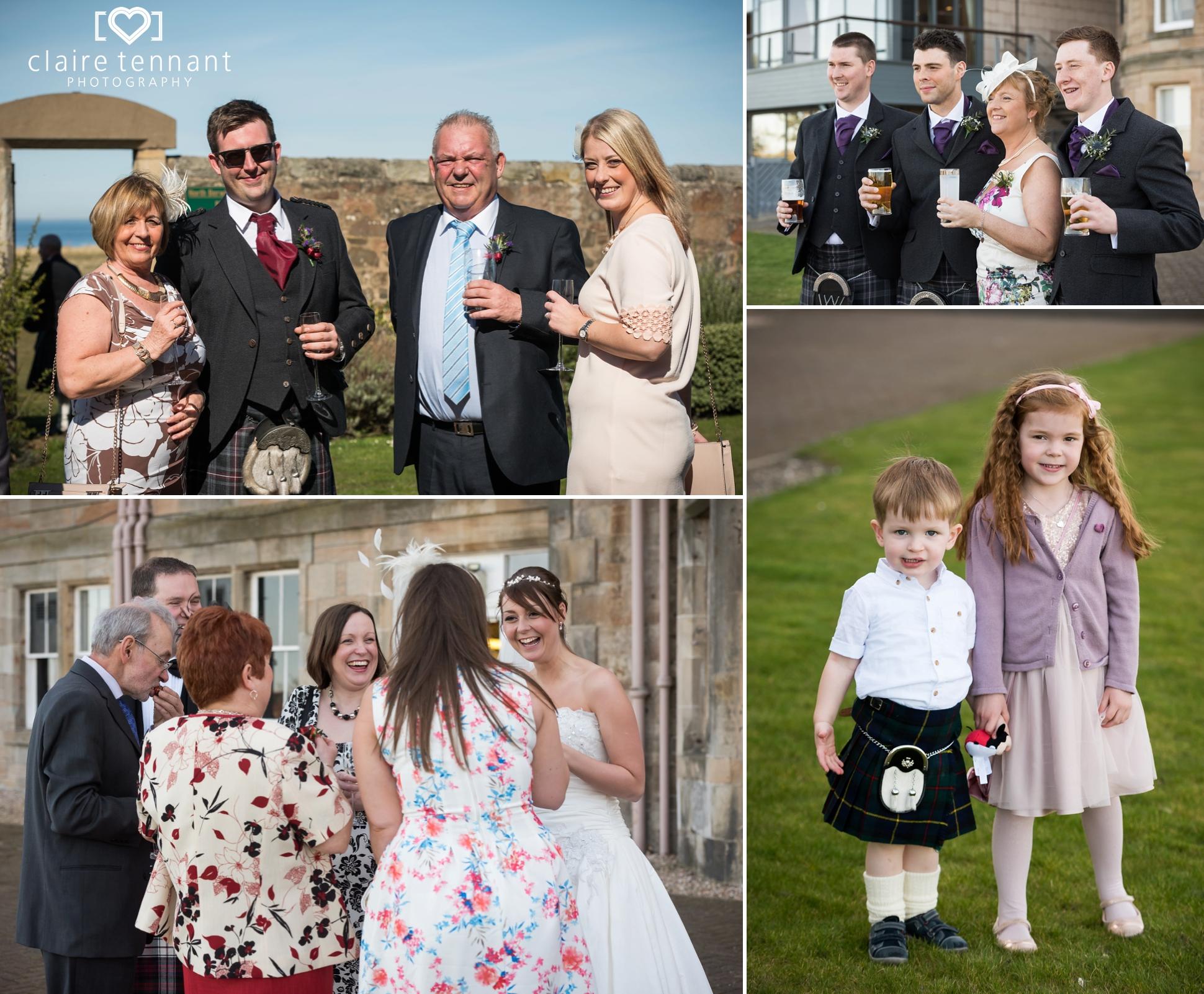 Macdonald Marine Hotel Wedding reception