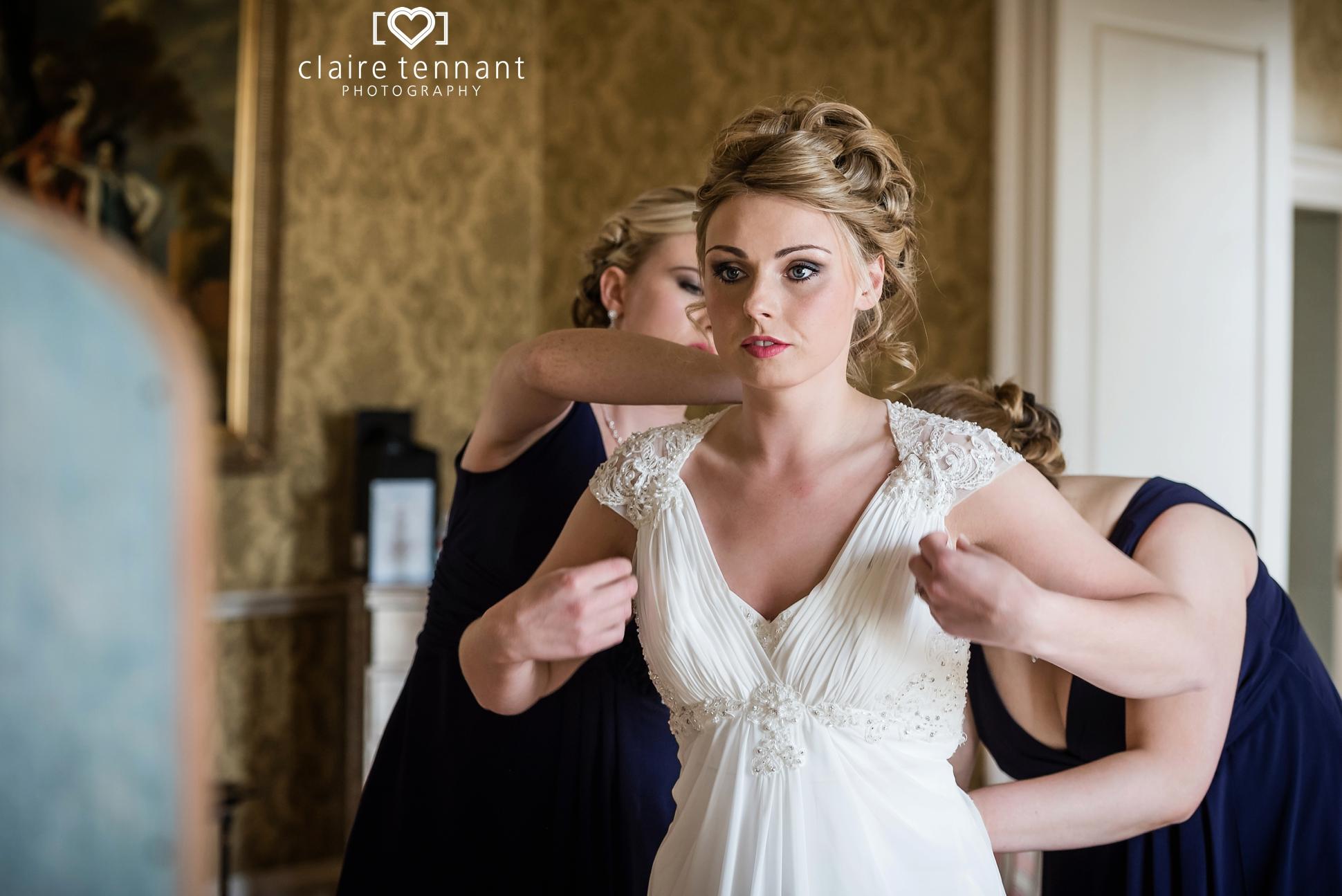 Archerfield Mansion House wedding preperations