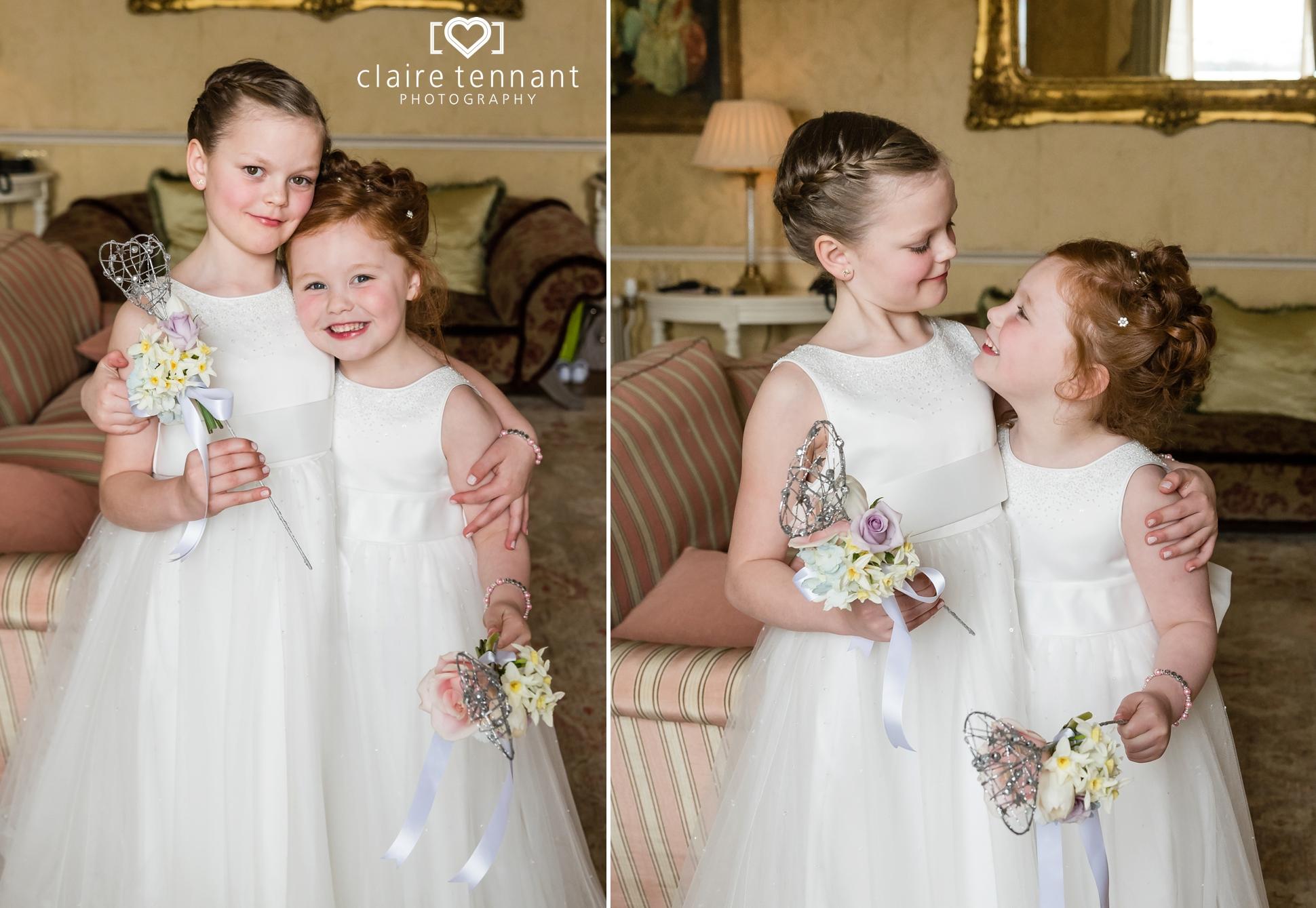 Archerfield Mansion House flowergirls