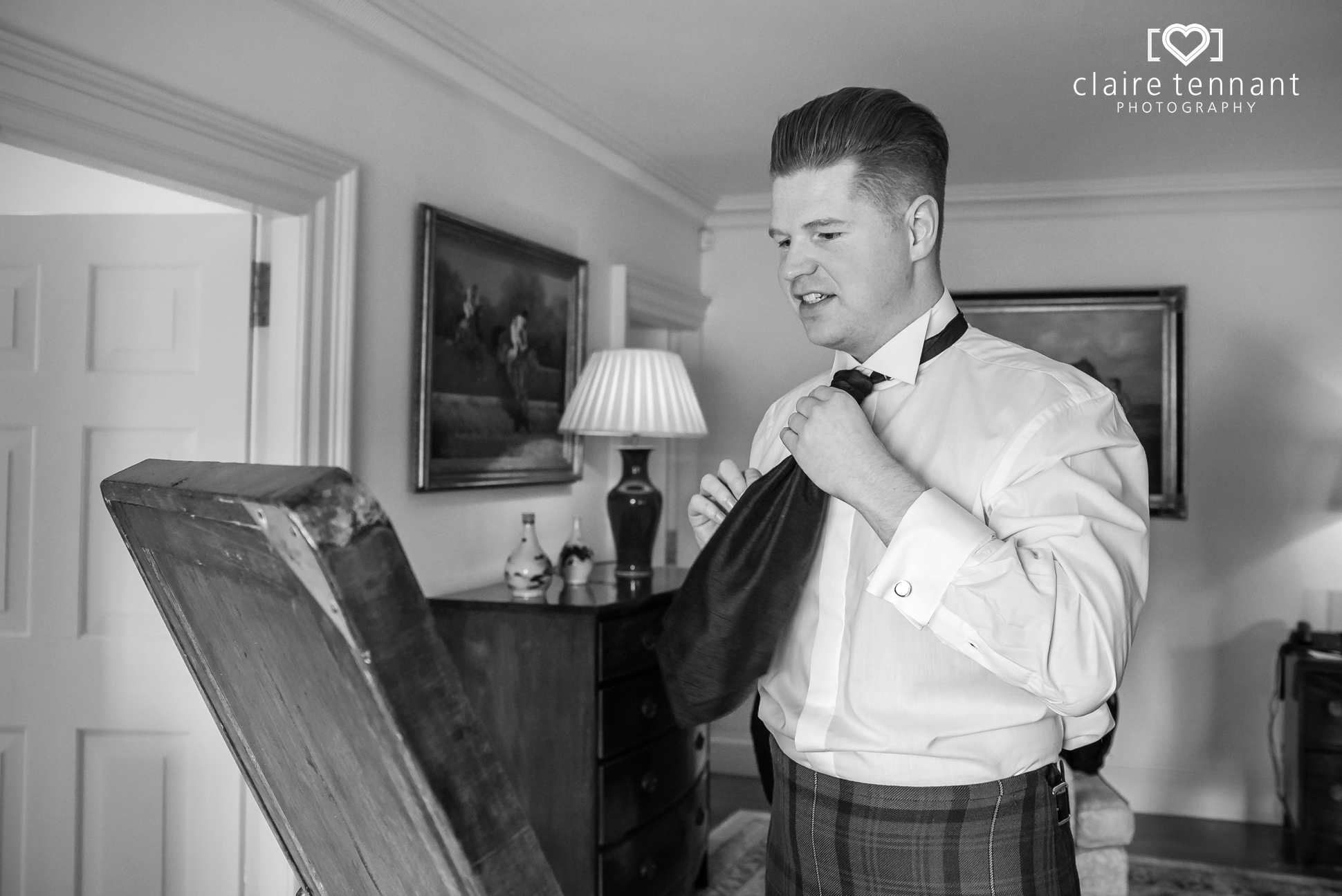 Archerfield Mansion House groom
